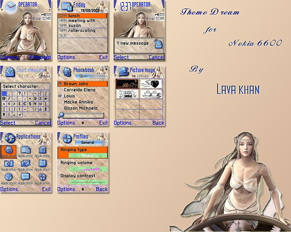 6600 adult nokia theme