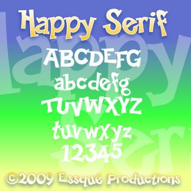 Happy Serif by Milomax27