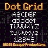 Dot Grid Font