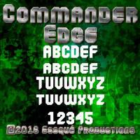 Commander Edge Font