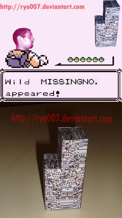 Missingno Papercraft