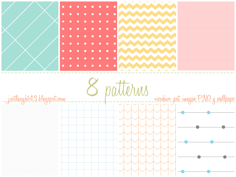 Pack de Patterns by JustLaugh143