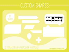 12 Custom Shapes