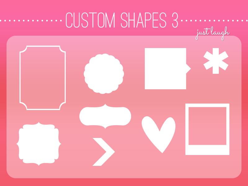 Custom Shapes Pack 3 - JustLaugh143 by JustLaugh143