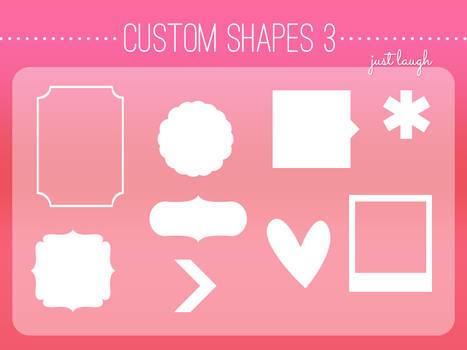 Custom Shapes Pack 3 - JustLaugh143