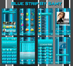 Blue Strip By Samy