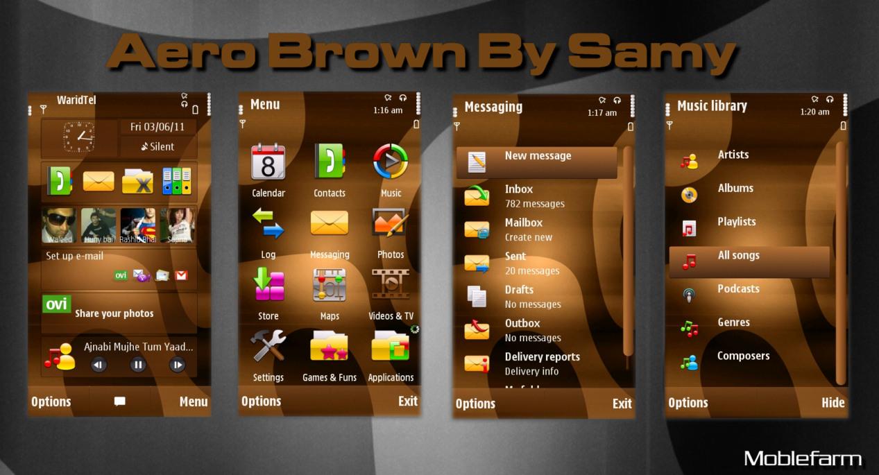 Aero Brown By Samy for v5