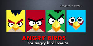 Angry Birds Lover Wallpapers