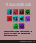 10 Social Media Icon May 2014