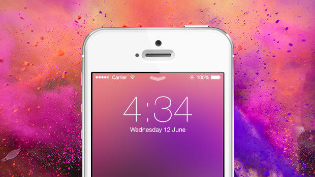 iOS 7 Style Blur