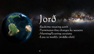 Jord - Rotating Earth (.rmskin)