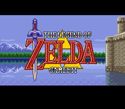 Zelda Gamekit Title Screen (Animated)