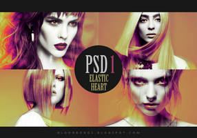PSD coloring 1: Elastic Heart by pretenditsfine