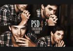 PSD coloring 4: Checkered shirt