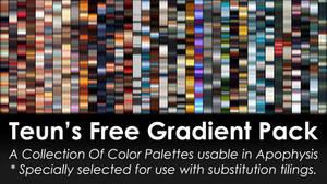 Teuns Free Gradient Pack