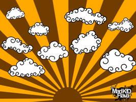 MadKID's Cloud Brush Vol.2 by MadKIDFlava