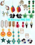 Earrings PNG Set_1
