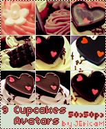 9 Cupcakes Avatar x DA by JEricaM