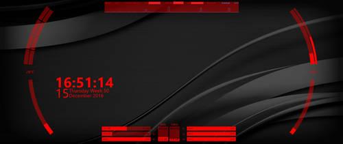 Red Hud 1.1 by svenkaboot