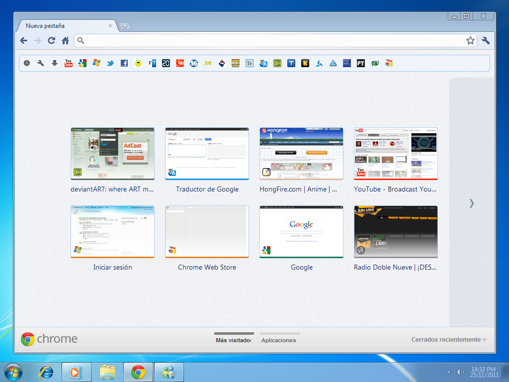 Theme de google chrome