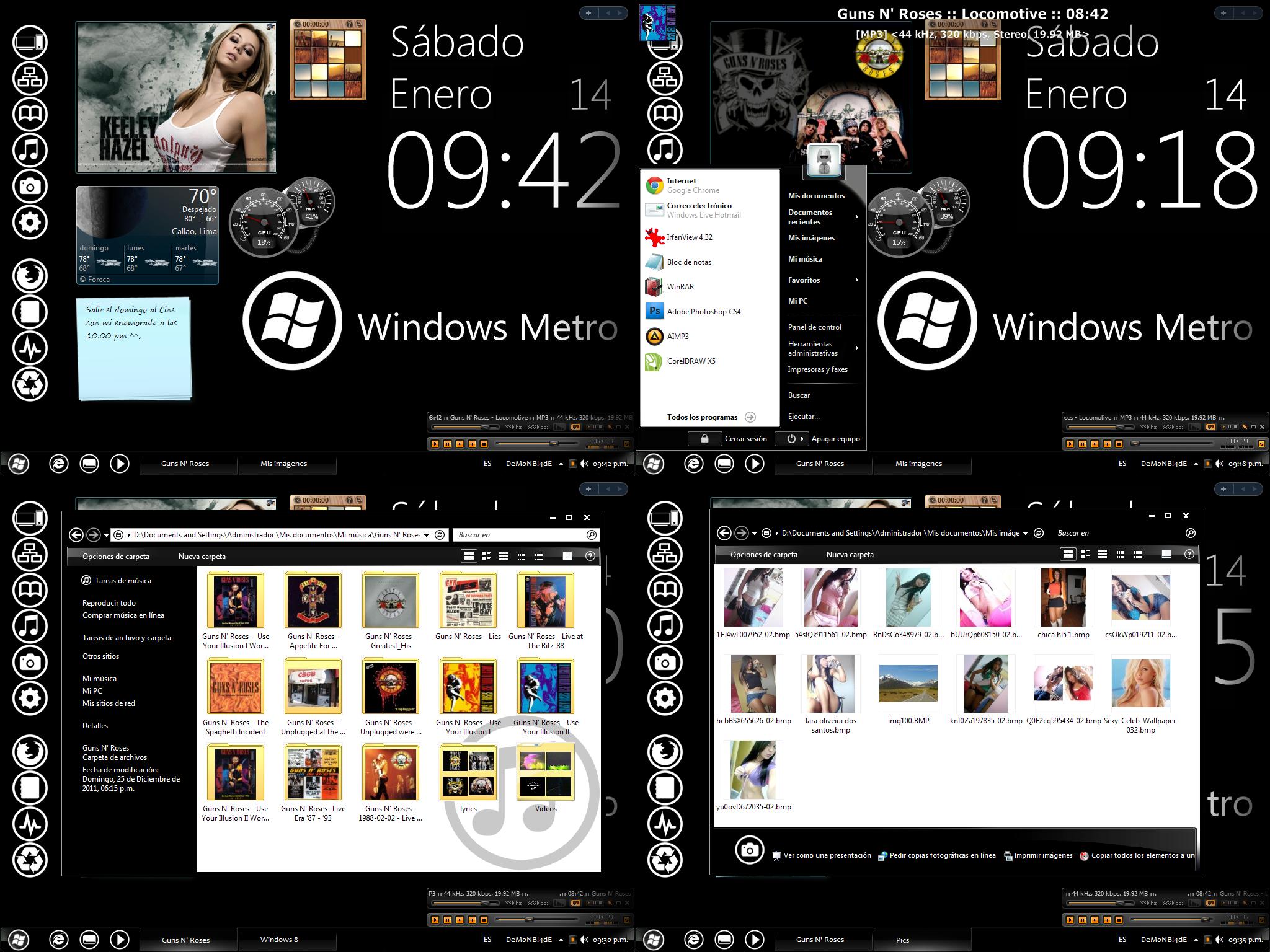 Windows 8 Metro GXP For Windows XP by DeMoNBL4dE