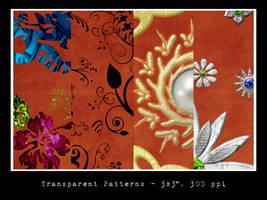 Ornate Transparent Patterns by slavetofashion69