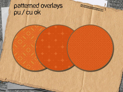 Patterned Overlays 2