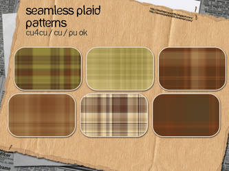 Country Plaid Patterns