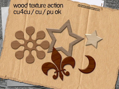Wood Texture Action