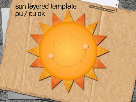 Sun Layered Template