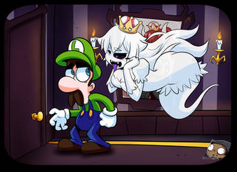 Luigi and Boosette (animated!) by CorytheC