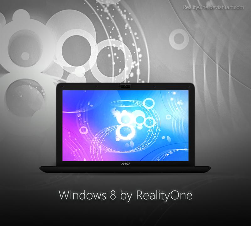 Windows 8 pre by RealityOne