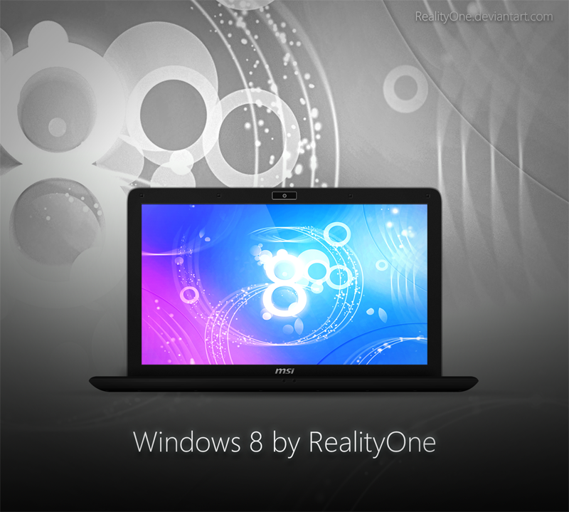 Windows 8 pre by RealityOne