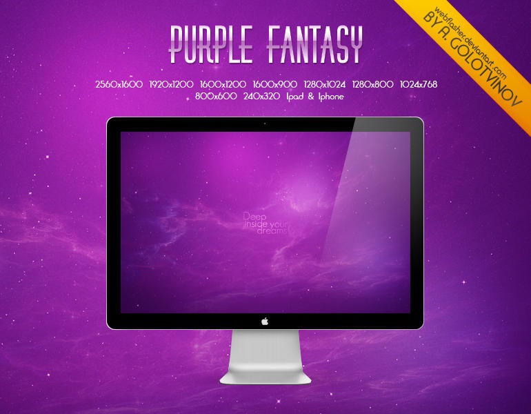 Purple Fantasy by WebFLasheR