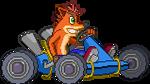 Crash Bandicoot MVC Style: CTR in Kart