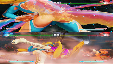 R.Mika Critical Art Slap and Split Fix 2.0 by Dusdeus