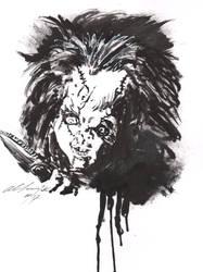 Chucky the doll inks by Baddahbing