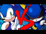 The Only Time Metal Sonic defeated Sonic