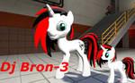 Mixie/ Dj Bron-3 Garrysmod pony OC