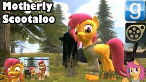 Motherly Scootaloo SFM Gmod pony
