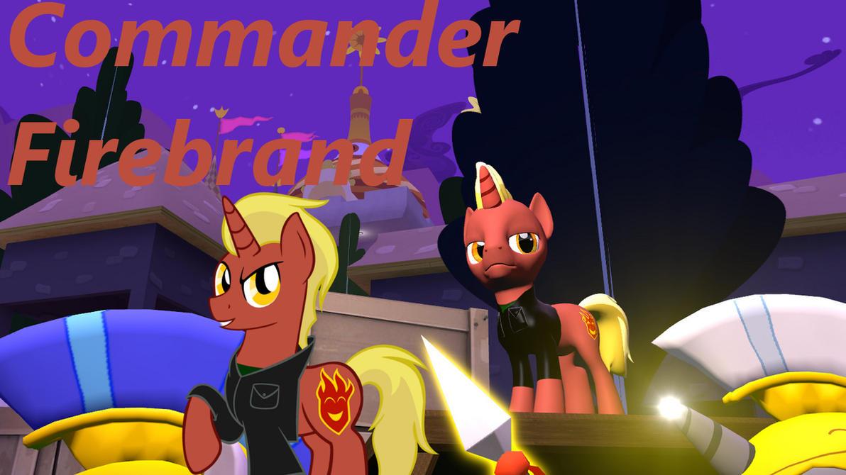 Commander Firebrand SFM-Gmod pony by LunarGuardWhoof
