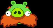 Lorax Mustache Pig