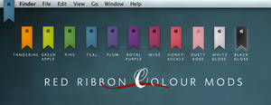 Red Ribbon Color Mods