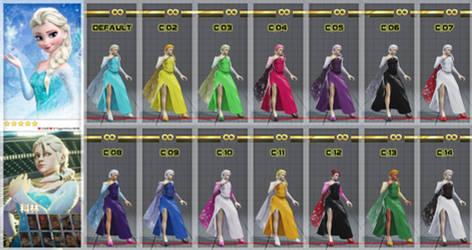 [SFV MOD] - Elsa from Frozen - Kolin C1