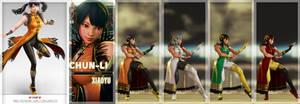 [SFV MOD] Chunli as Ling Xiaoyu - Tekken7