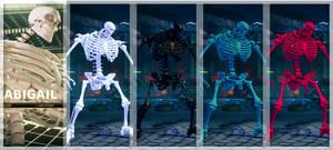 [Swap Mod]Abigail Colorful Skeleton