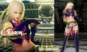 [MOD PREV] - Karin as Lili Little Devil - Tekken 7