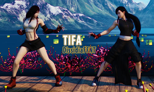 SFV MOD Preview] Cammy as Tifa Dissidia FF NT by TiggieWhite