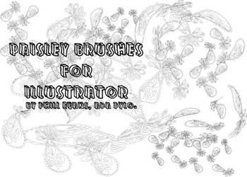 Paisley Illustrator Brushes