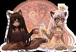 Gift: +Coffee xXx Latte+ by Shide-Dy